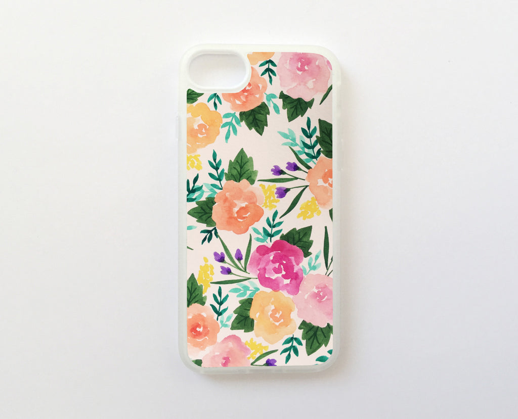 Terapia Floral - Carcasa iPhone 7 Plus y iPhone 8 Plus