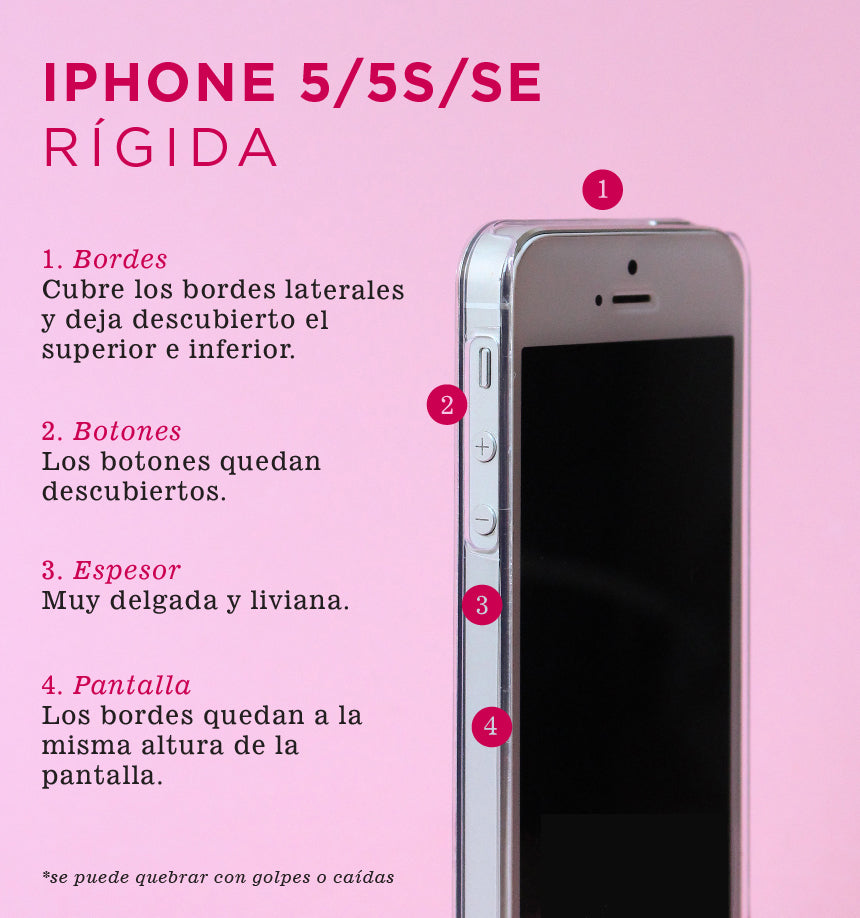 carcasa iphone se rigida