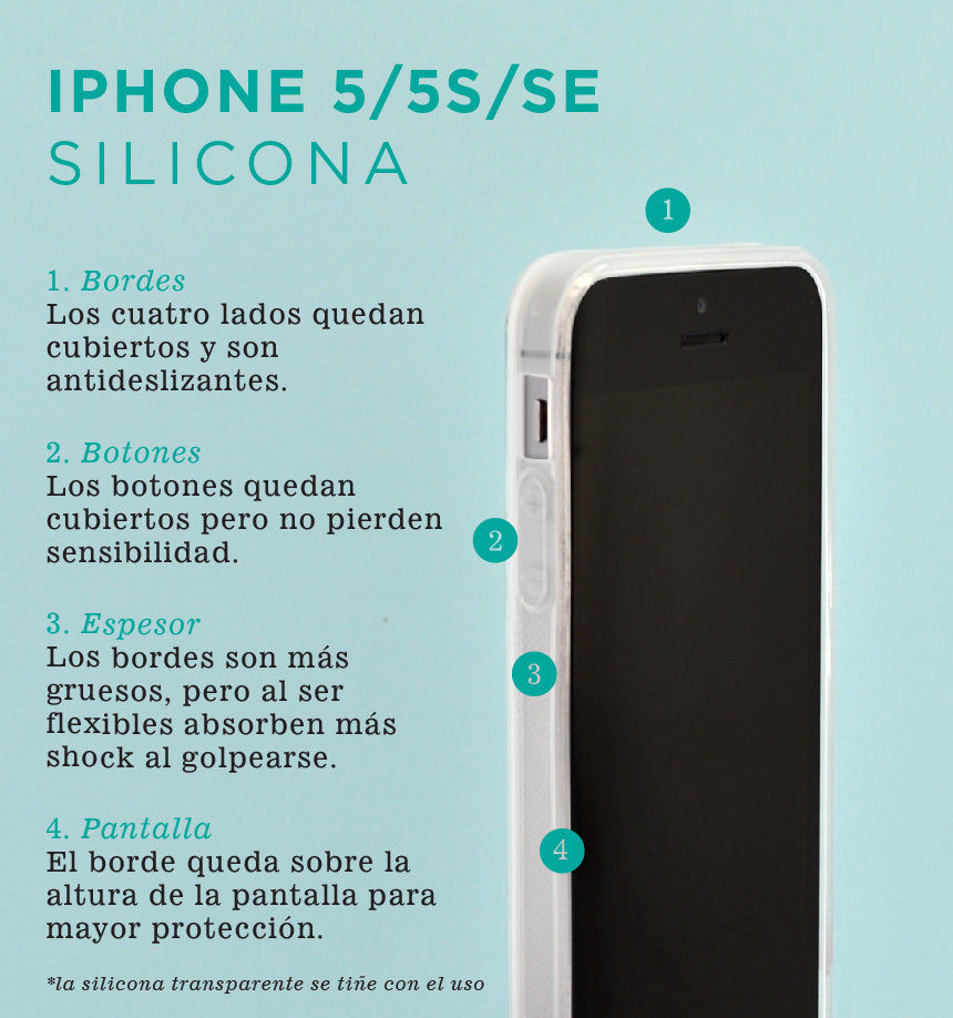 Nativa - Carcasa iPhone 5 - iPhone SE