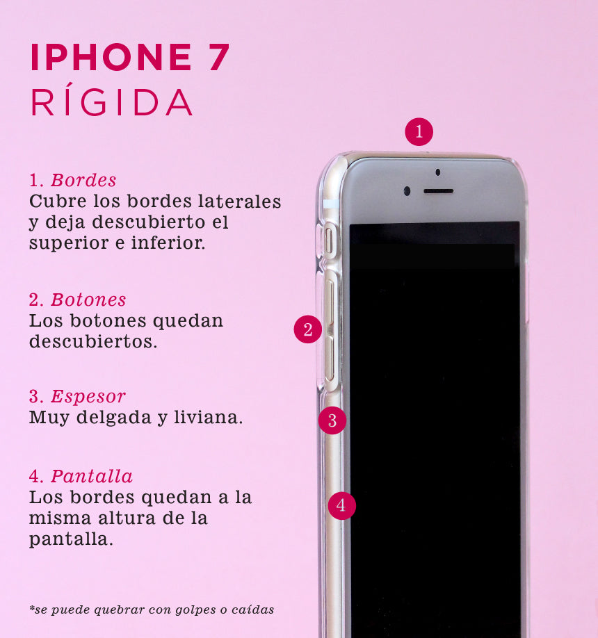 Nativa - Carcasa iPhone 7 - iPhone 8 - SE 2020