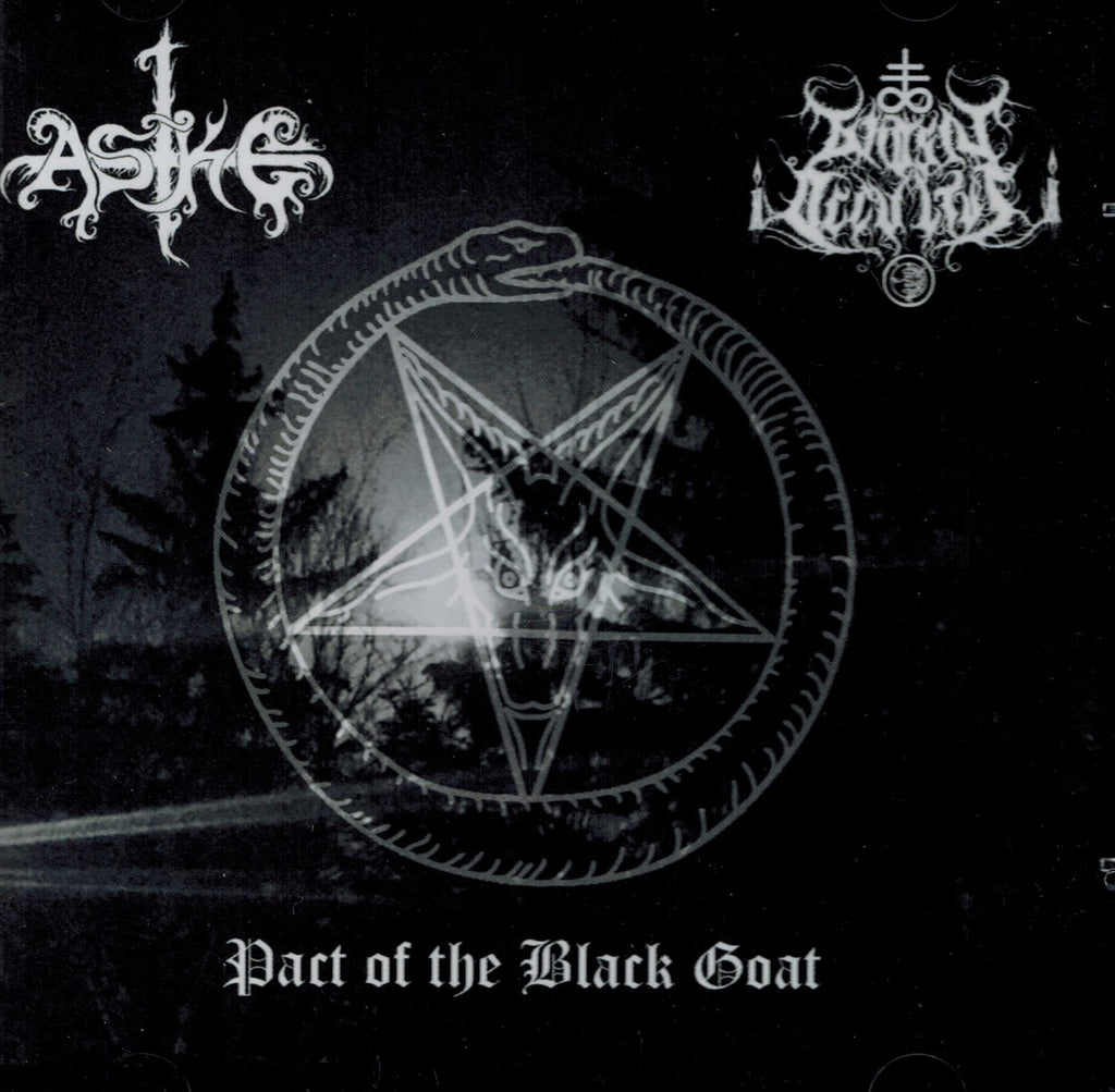 Aske / Gnosis Occultus - Pact of the Black Goat Split CD