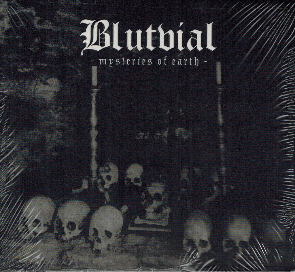 Blutvial - Mysteries of Earth DIGI CD