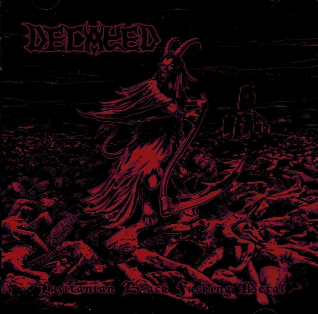 Decayed - Lusitanian Black Fucking Metal CD