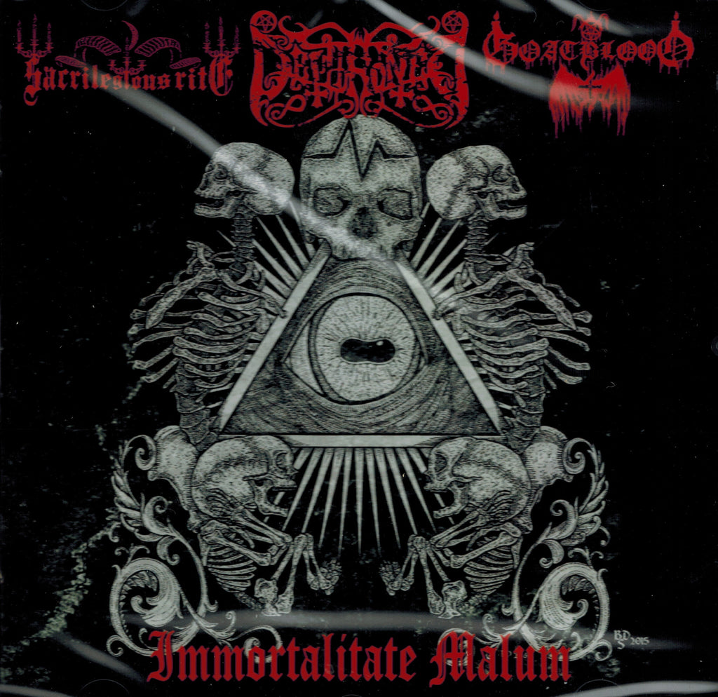 Dethroned/Goatblood/Sacrilegius Rites -Immortalitate Malum CD