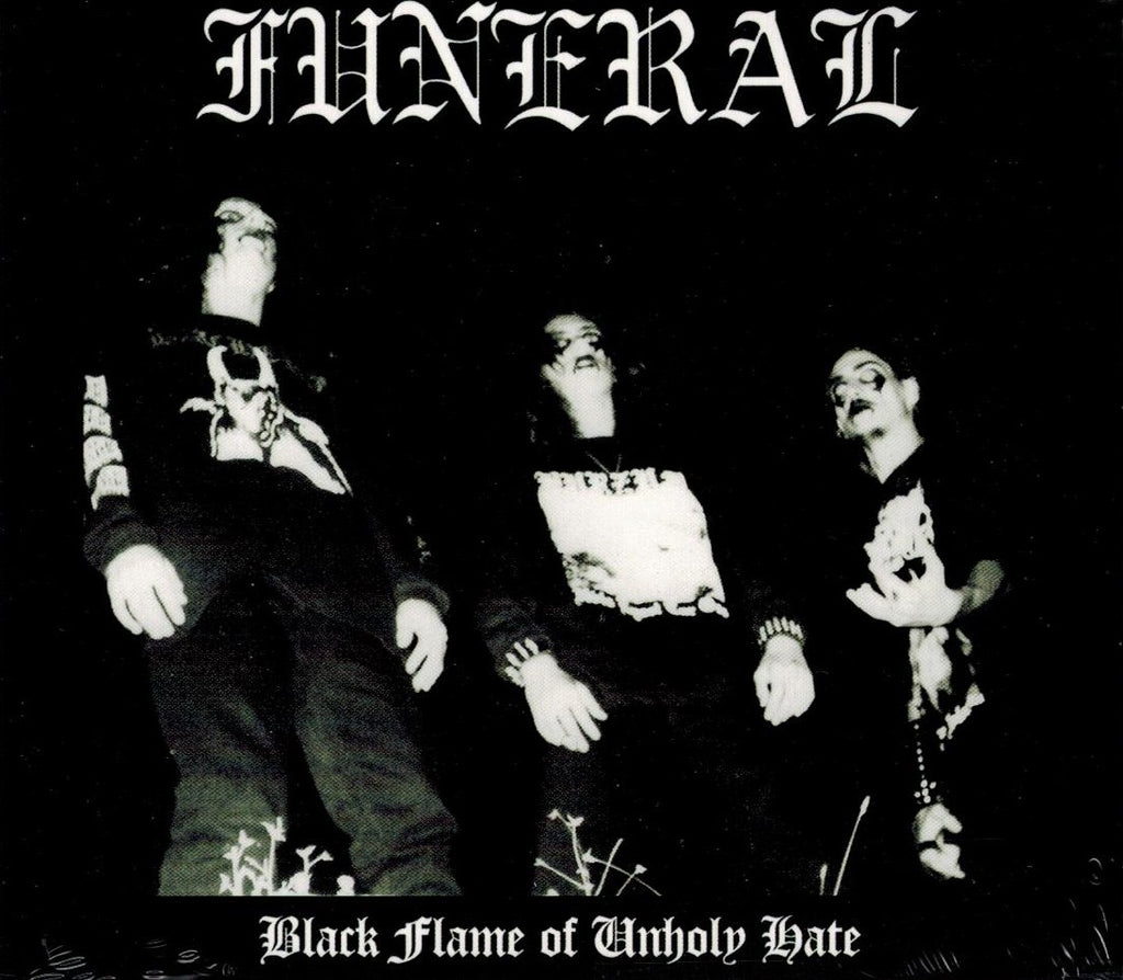 Funeral - Black Flame Of Unholy Hate DIGICD