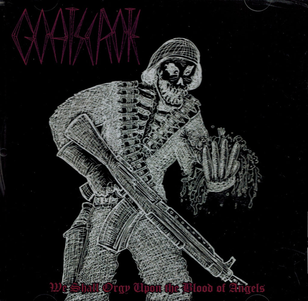 GoatScrote - We Shall Orgy upon the Blood of Angels CD