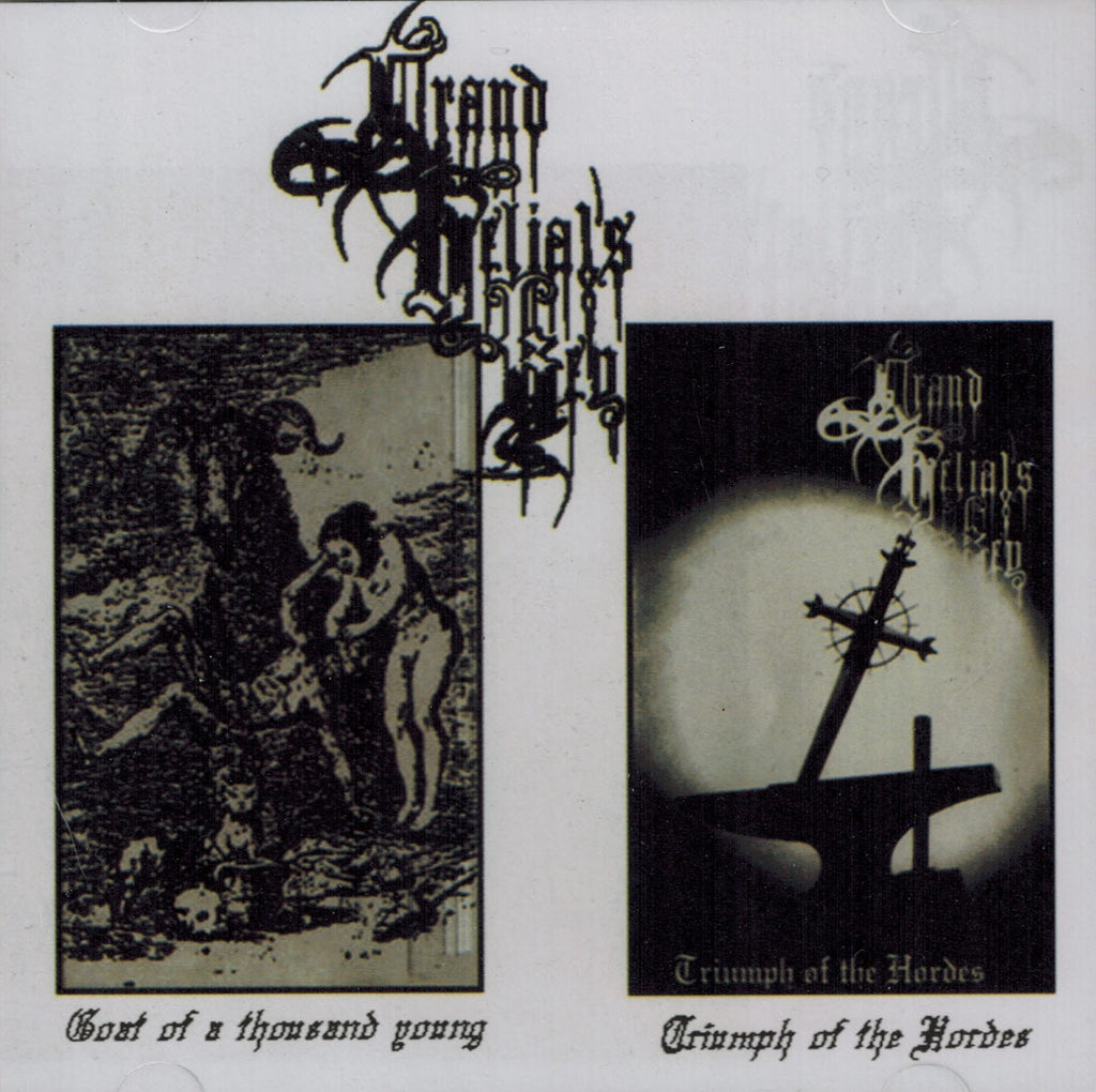 Grand Belials Key - Goat of a thousand young CD