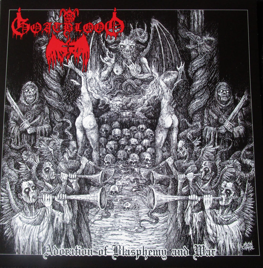 Goatblood - Adoration of Blasphemy and War LP
