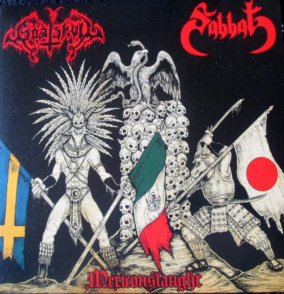Sabbat/Goat Skull - Mexiconslaught Split EP