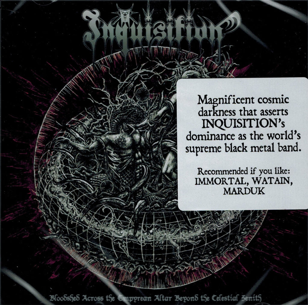 Inquisition - Bloodshed Across the Empyrean Altar Beyond CD