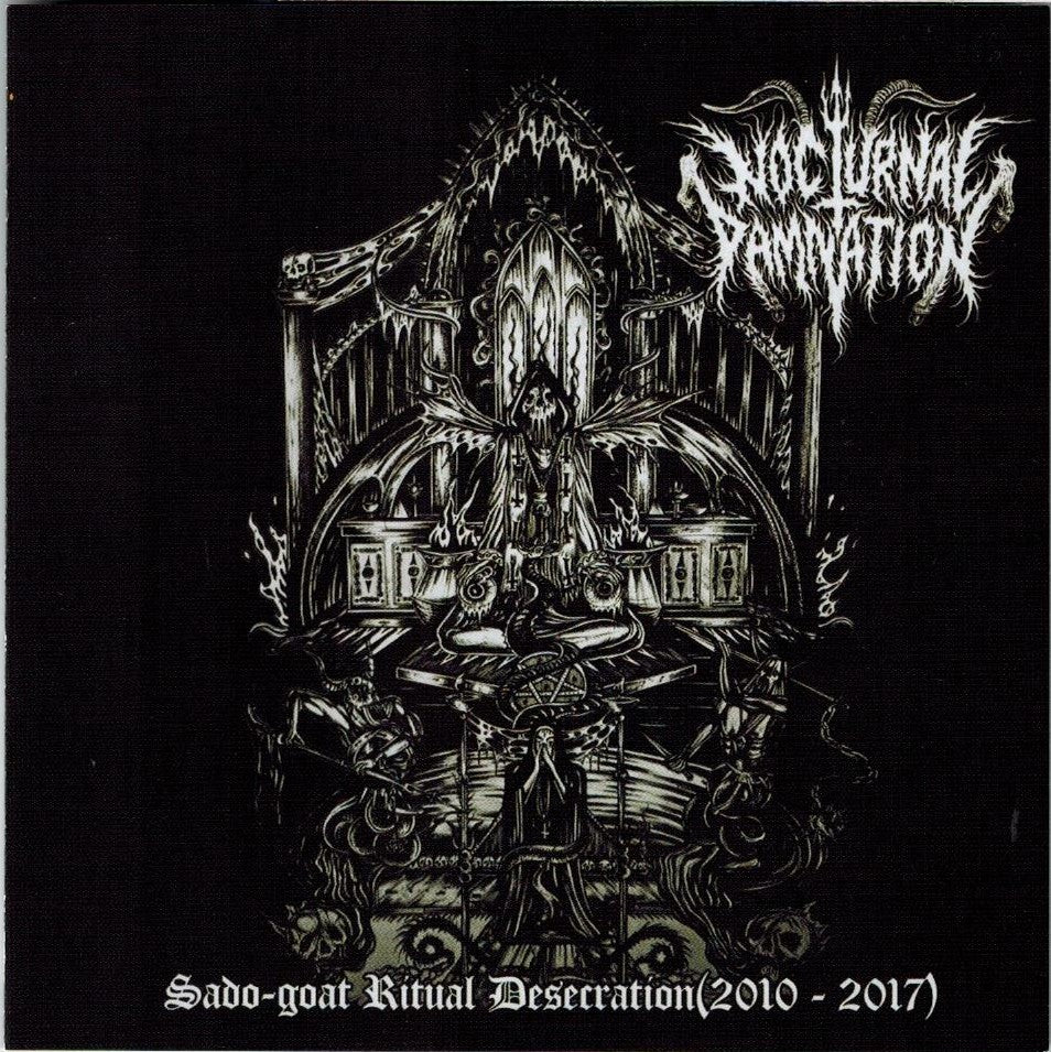 Nocturnal Damnation - Sado-goat Ritual Desecration CD