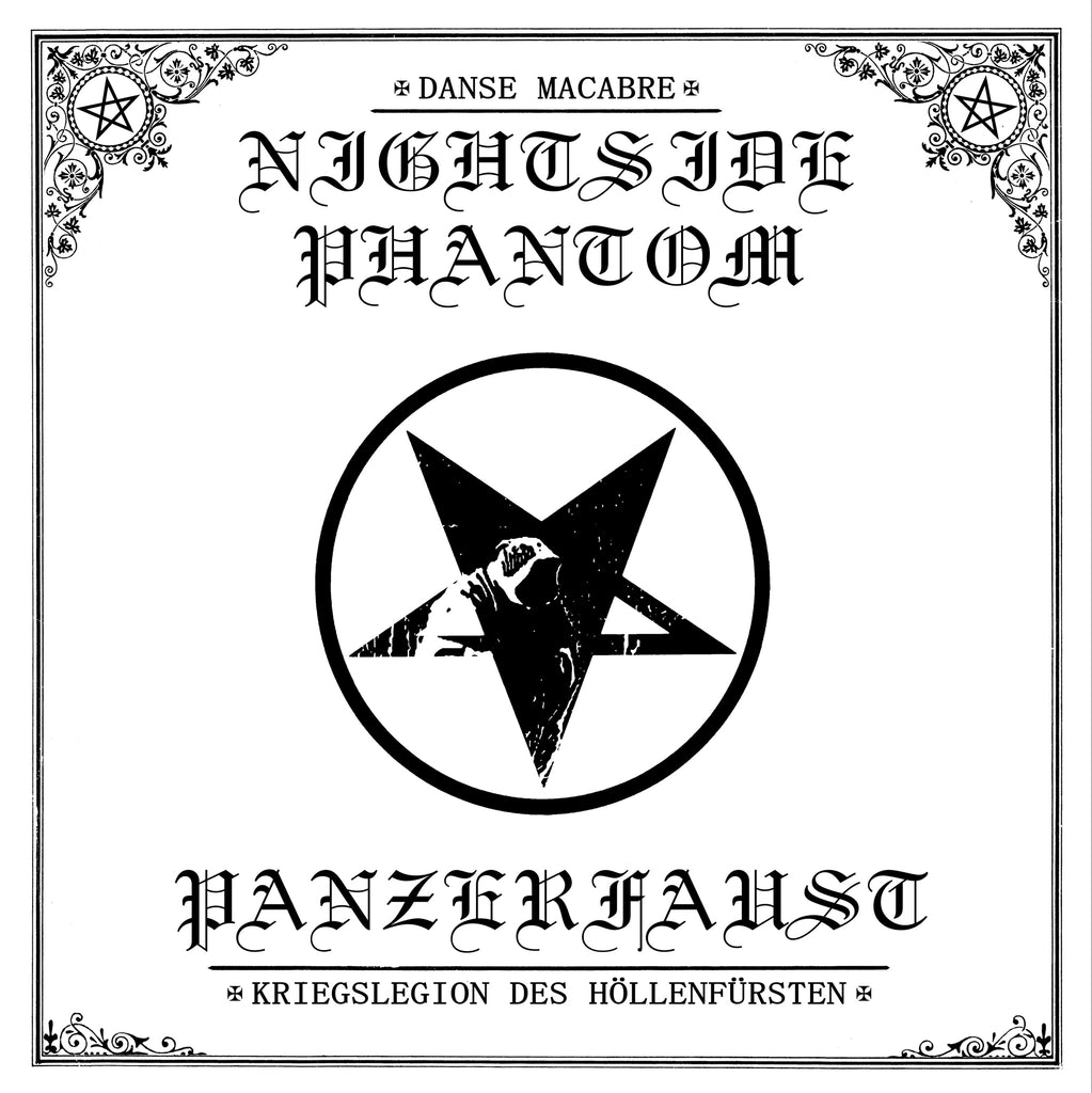 Panzerfaust/Nightsidephantom Split EP 12""