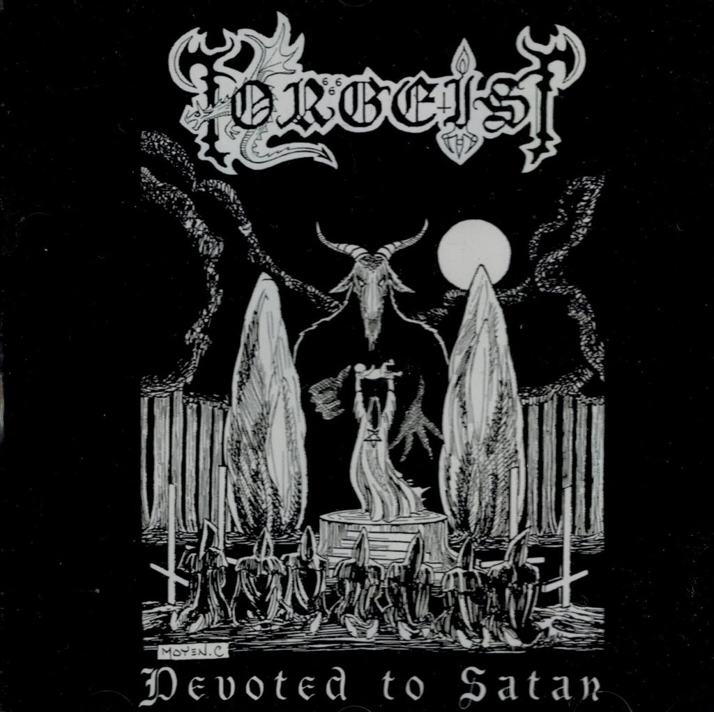 Torgeist – Devoted of satan CD