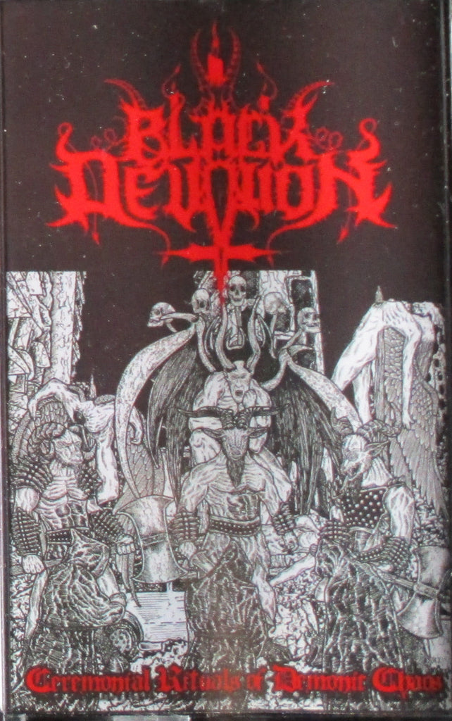 MC: BLACK DEVOTION - Ceremonial Rituals Of Demonic Chaos Tape