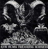 Evil / Abigail – Raw Black Thrashing Madness Split EP