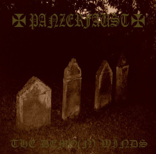 ANP 009 Panzerfaust – The Demo(n) Winds LP + The Demo(n) Winds Part II Tape