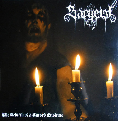 Sargeist – The Rebirth Of A Cursed Existence Gatefold DLP
