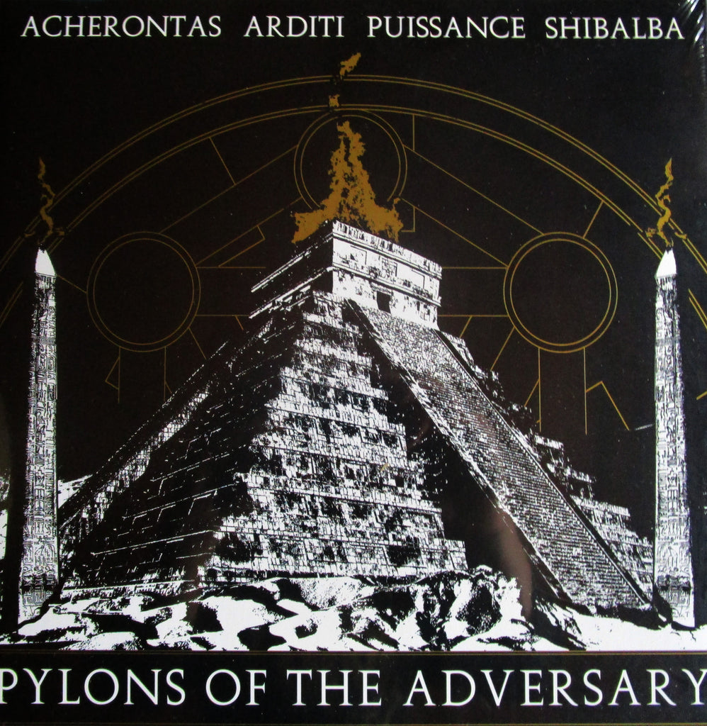Acherontas/Arditi/Puissance/Shibalba – Pylons of the Adversary GF LP