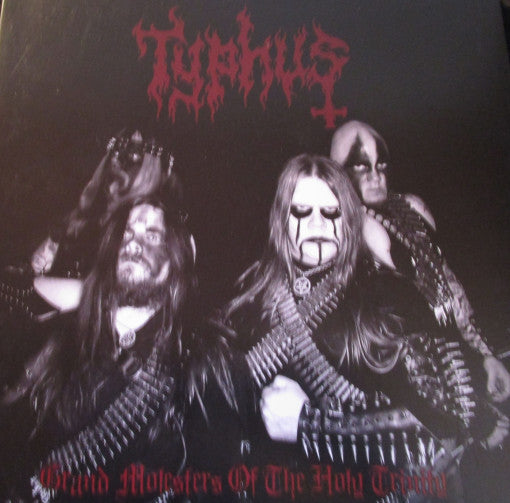 Typhus – Grand Molesters of the holy trinity LP