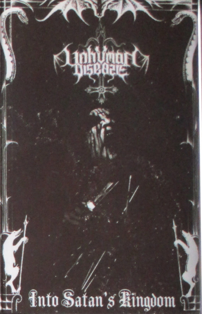 UNHUMAN DISEASE - Into Satan's Kingdom Tape