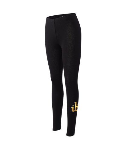 Women's ib26 Gold Logo Legging