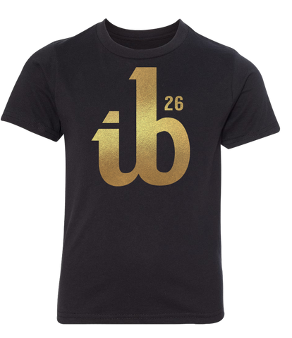 Youth ib26 Gold Logo Tee