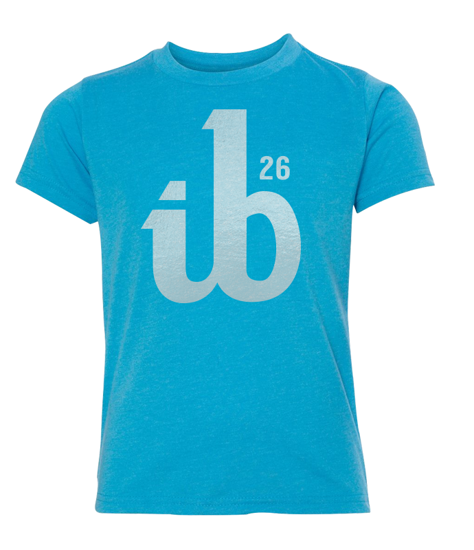 Youth ib26 Platinum Logo Tee