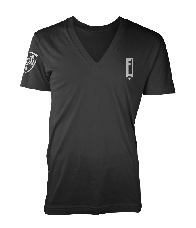 Footy Logo V-Neck Tee