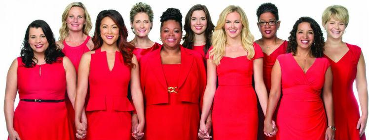 Friday is National Wear Red Day in Honor of Women's Heart Health