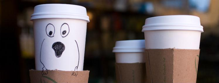 The Coffee Sleeve: Hot Coffee's Best Friend