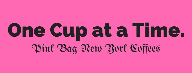 Buy Pink Coffee Bags to Support Breast Cancer Awareness