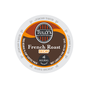 Tully's French Roast Decaf K-Cups 24ct Dark