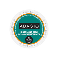Adagio House Blend Decaf K-Cup Pods 24ct