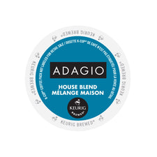Adagio House Blend K-Cup Pods 24ct