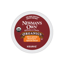 Newman's Own Organics Special Blend Decaf K-Cup Pods 72ct