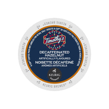 Timothy's Decaffeinated Hazelnut K-Cup Pods 24ct