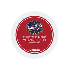Timothy's Christmas Blend K-Cup Pods 24ct