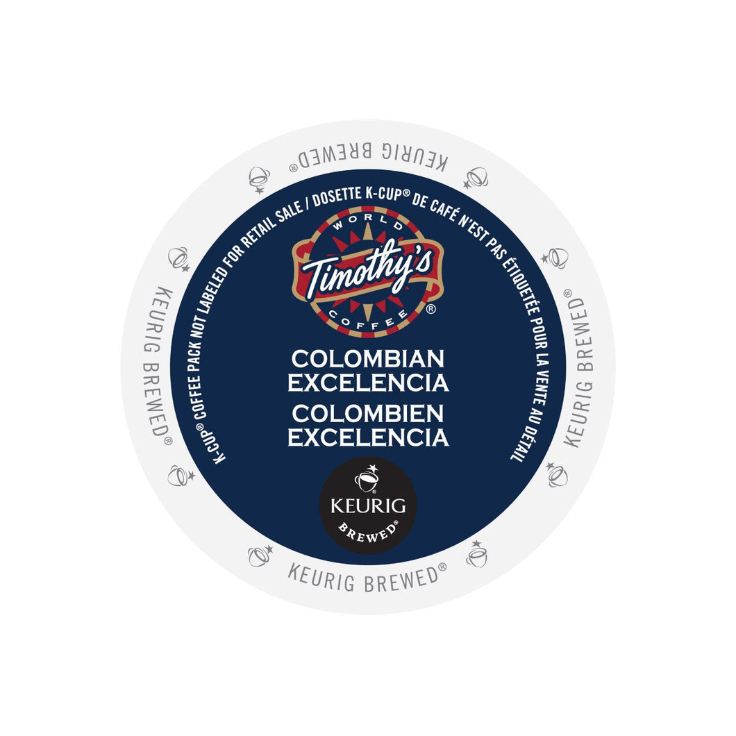Timothy's Colombian Excelencia K-Cup Pod