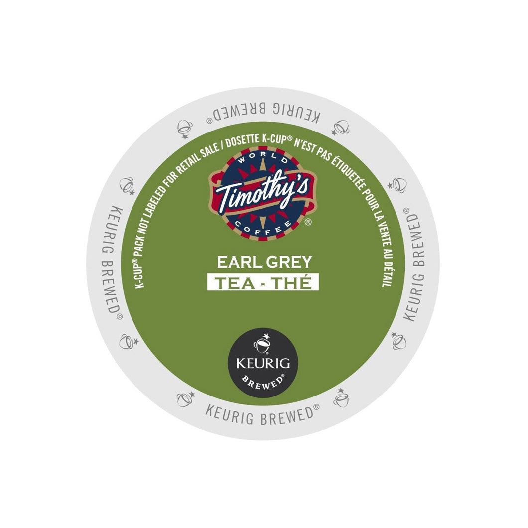 Timothy's Earl Grey Tea K-Cup Pod