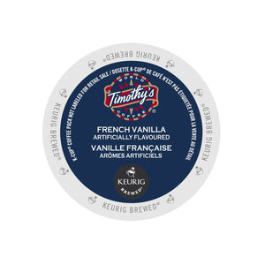 Timothy's French Vanilla K-Cup Pod