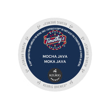 Timothy's Mocha Java K-Cup Pods 24ct