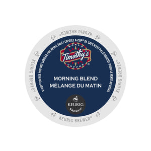Timothy's Morning Blend K-Cup Pod