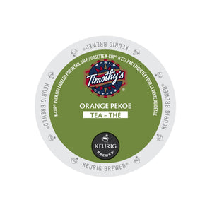 Timothy's Orange Pekoe Tea K-Cup Pod