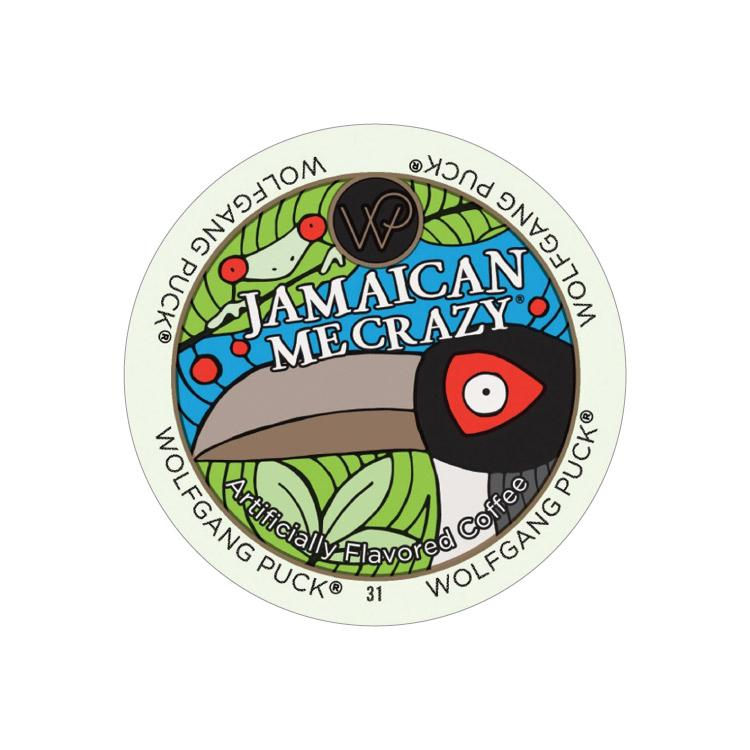 Wolfgang Puck Jamaican Me Crazy Single Serve Coffee Pods 24ct