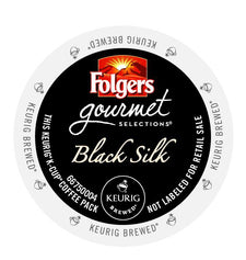 Folgers Black Silk K-Cups 24ct Box