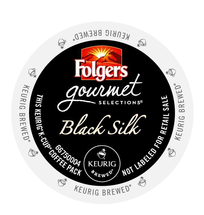 Folgers Black Silk K-Cup® Pods 24ct Box