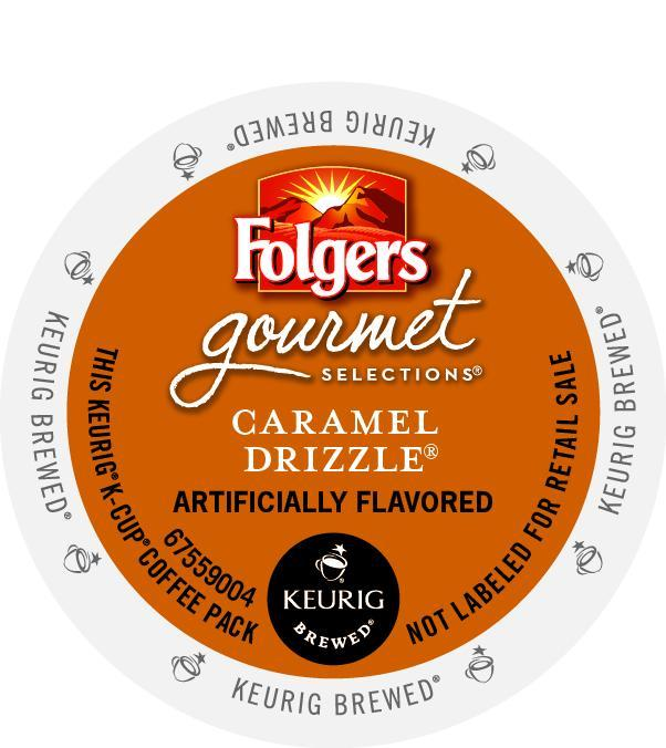 Folgers Caramel Drizzle K-Cup® Pods 24ct Box