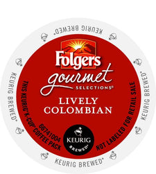 Folgers Lively Colombian K-Cups 24ct Box