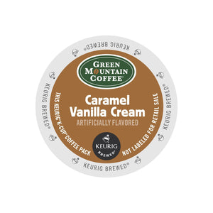 Green Mountain Coffee Caramel Vanilla Cream K-Cup® Pods 24ct
