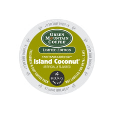 Green Mountain Coffee Fair Trade Island Coconut K-Cups 24ct